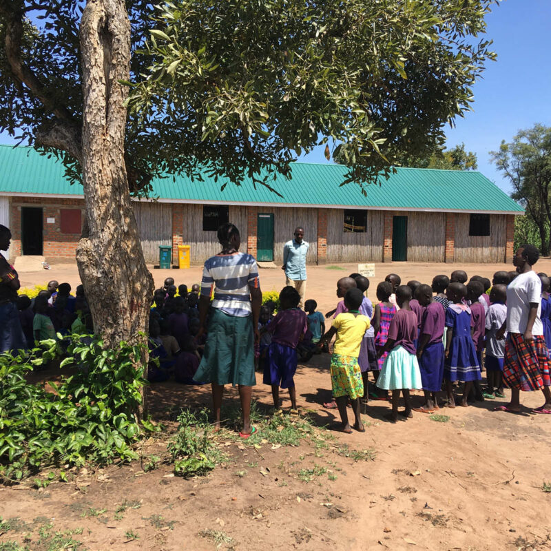 Flüchtlingscamp Palabek