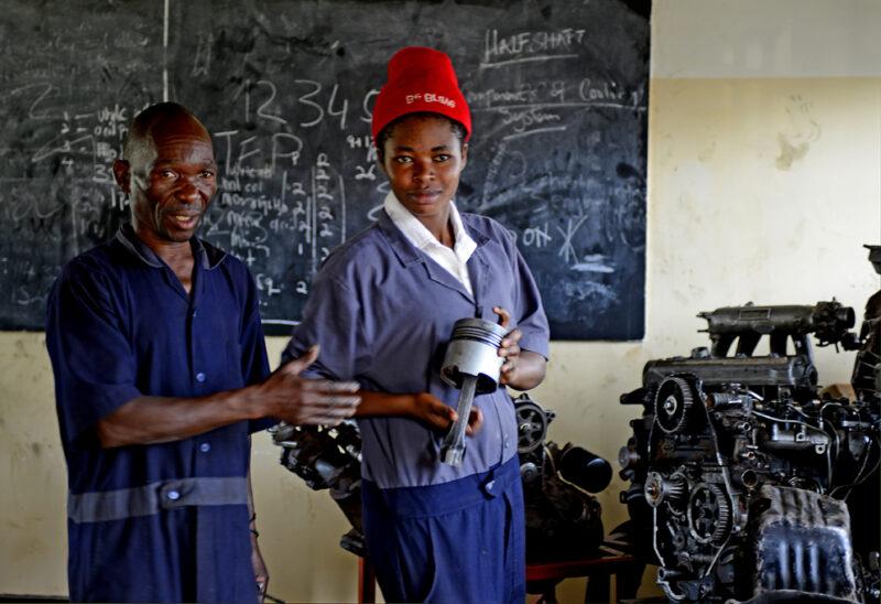Don Bosco Jugend- und Ausbildungszentrum – Förderprogramm für Mädchen und junge Frauen