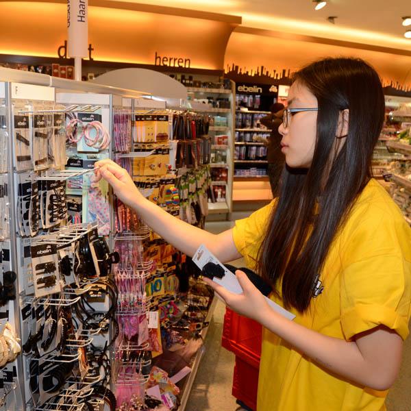 Im Einzelhandel