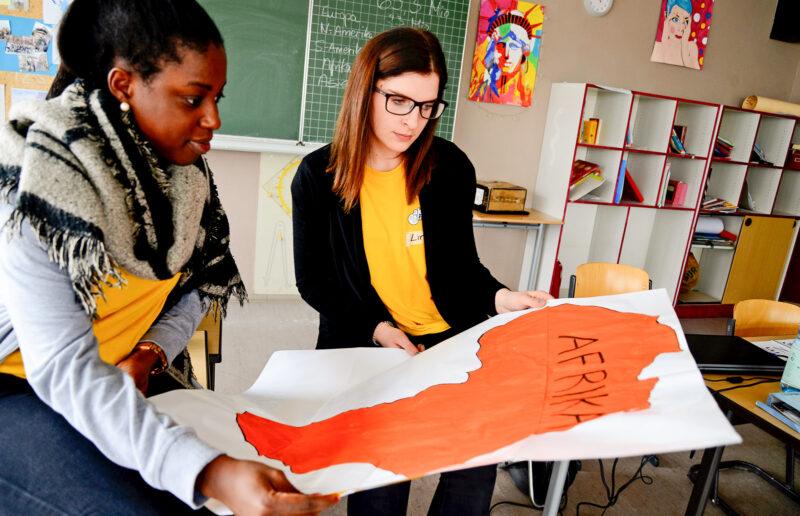 Bildungsarbeit - Globales Lernen