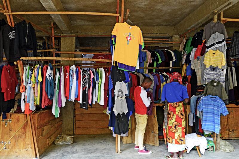 Unterrichtsmaterialien Secondhand-Kleidung
