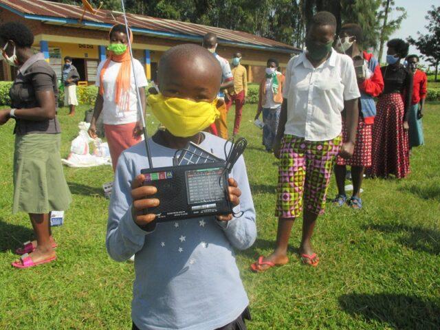 Kinderhaushalte Ruanda - 2. Hilfslieferung