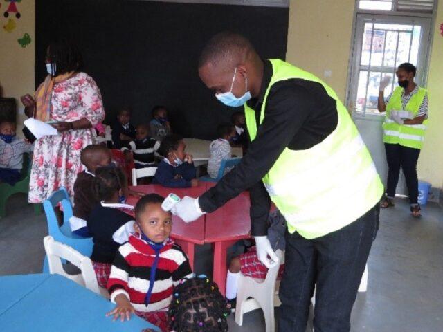 Eröffnung IMANZI Primary School 04/2021