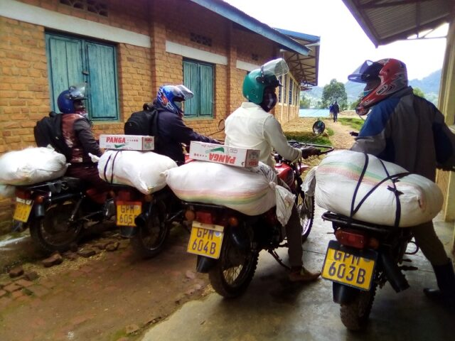 Kinderfamilien Ruanda - 1. Hilfslieferung, Mai 2020