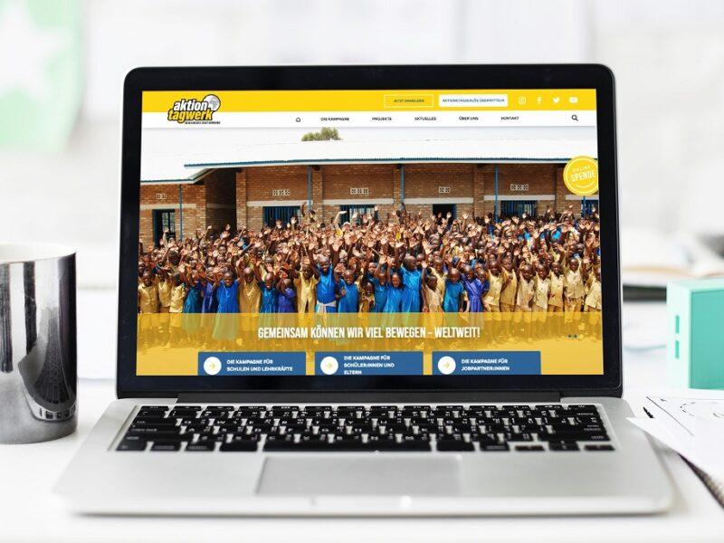 Die neue Website der Stiftung Tagwerk geht an den Start