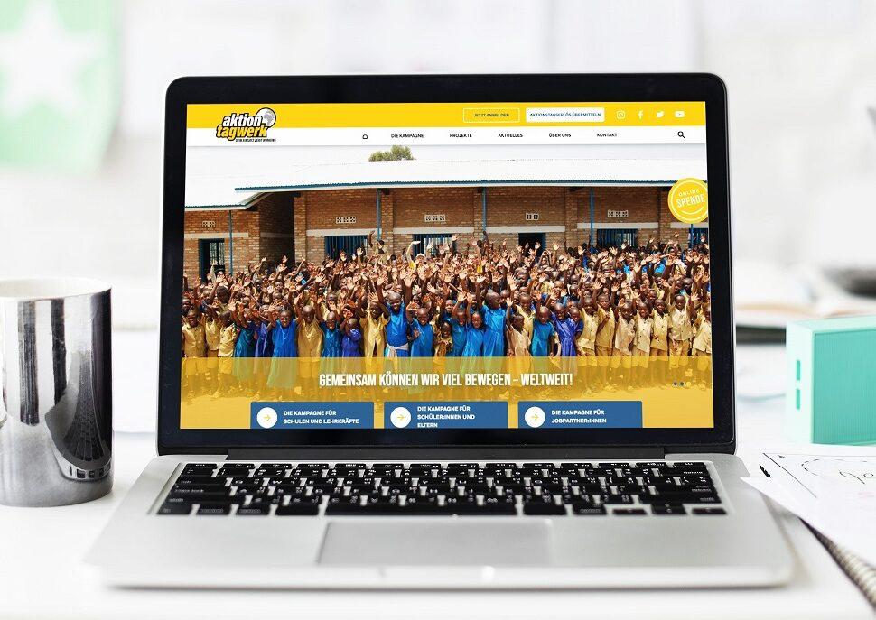 AT-Website online